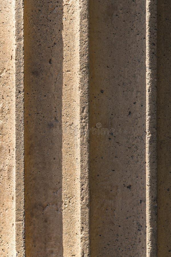 För närbildtextur för kolonn forntida bakgrund royaltyfri foto
