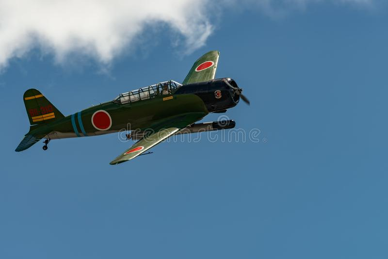 ` för Nakajima B5N2 `-KATE, royaltyfri bild