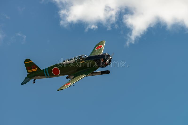 ` för Nakajima B5N2 `-KATE, arkivfoto