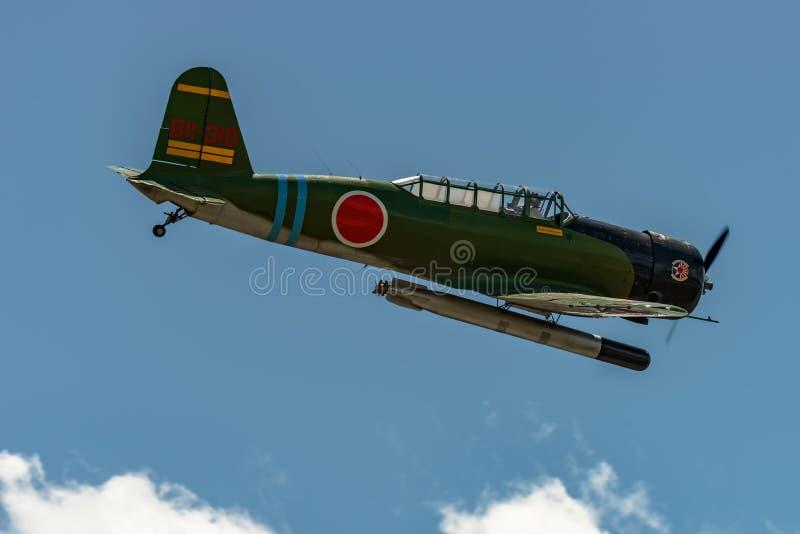 ` för Nakajima B5N2 `-KATE, arkivfoton