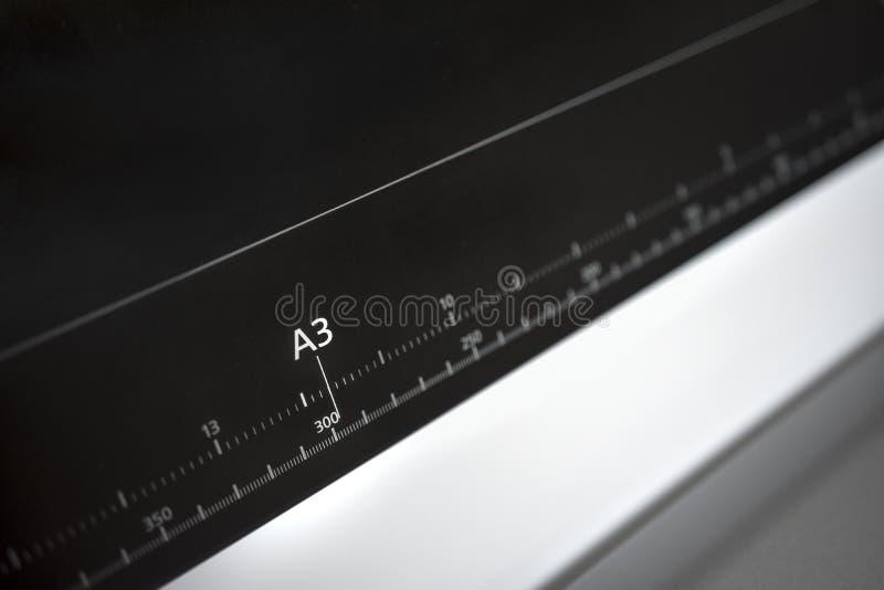 För pappersformat för europé A3 ruller royaltyfri fotografi