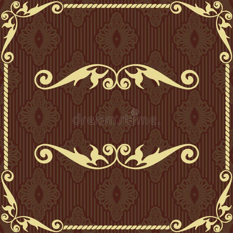 för pappersvektor för bakgrund gammal tappning royaltyfri illustrationer