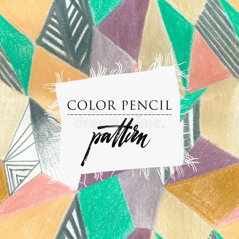 för patchworktäcke för sängöverkast fungerar olika gjorda manuella trasor stock illustrationer