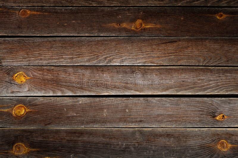 För plankatextur för timmer brun wood bakgrund royaltyfri foto