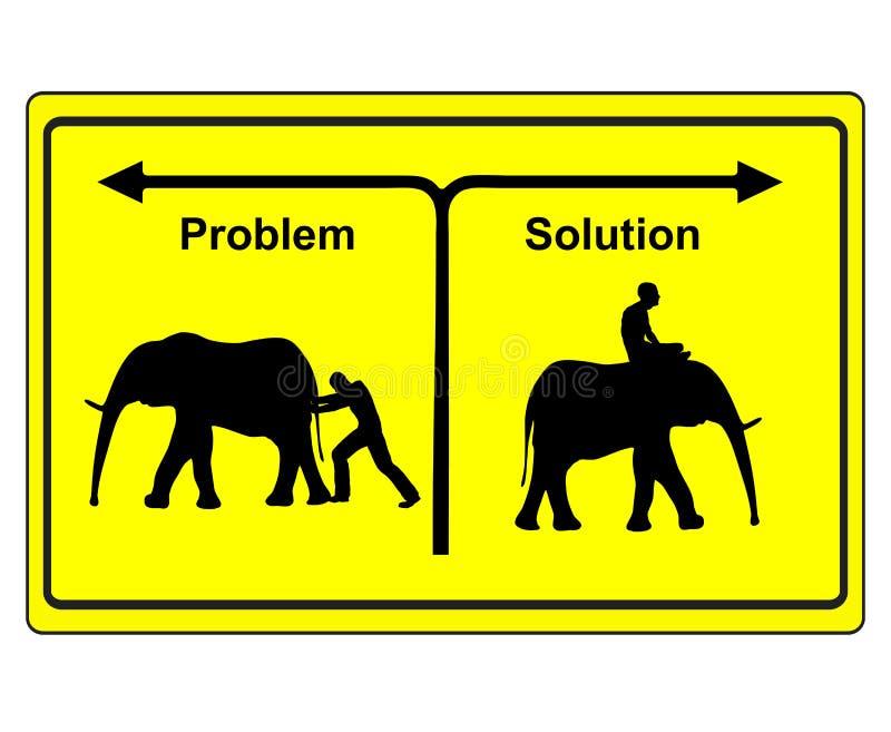 För problem lösning kontra vektor illustrationer