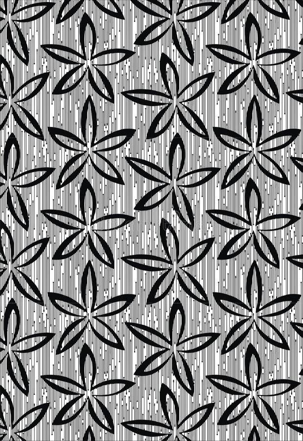 För prydnadmodell för textil sömlös Paisley för indisk design för konst härlig modell royaltyfri illustrationer