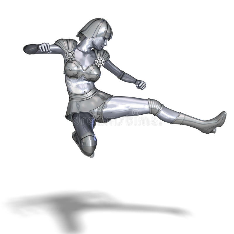 för räddningsaktionsilver för hjältinna kraftig värld vektor illustrationer