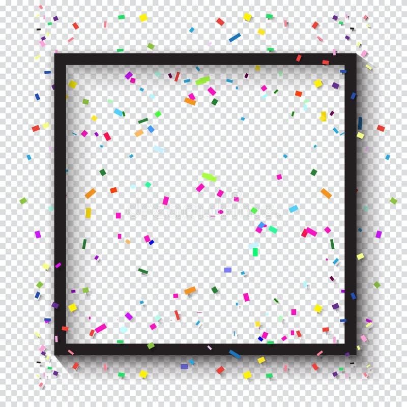 för ramhålet för bakgrund mönstrde härlig svart kpugloe fotoet royaltyfri illustrationer