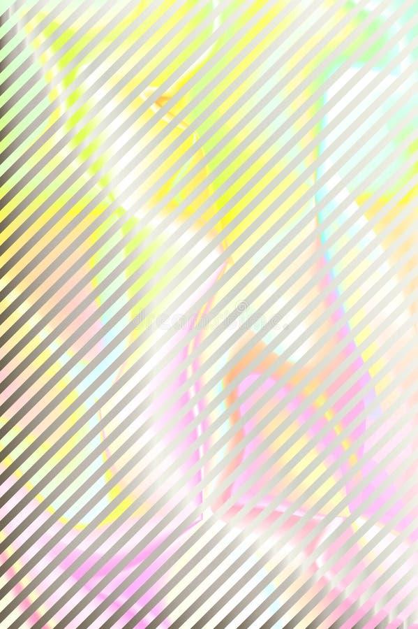 För regnbågetextur för Holographic folie härlig bakgrund stock illustrationer
