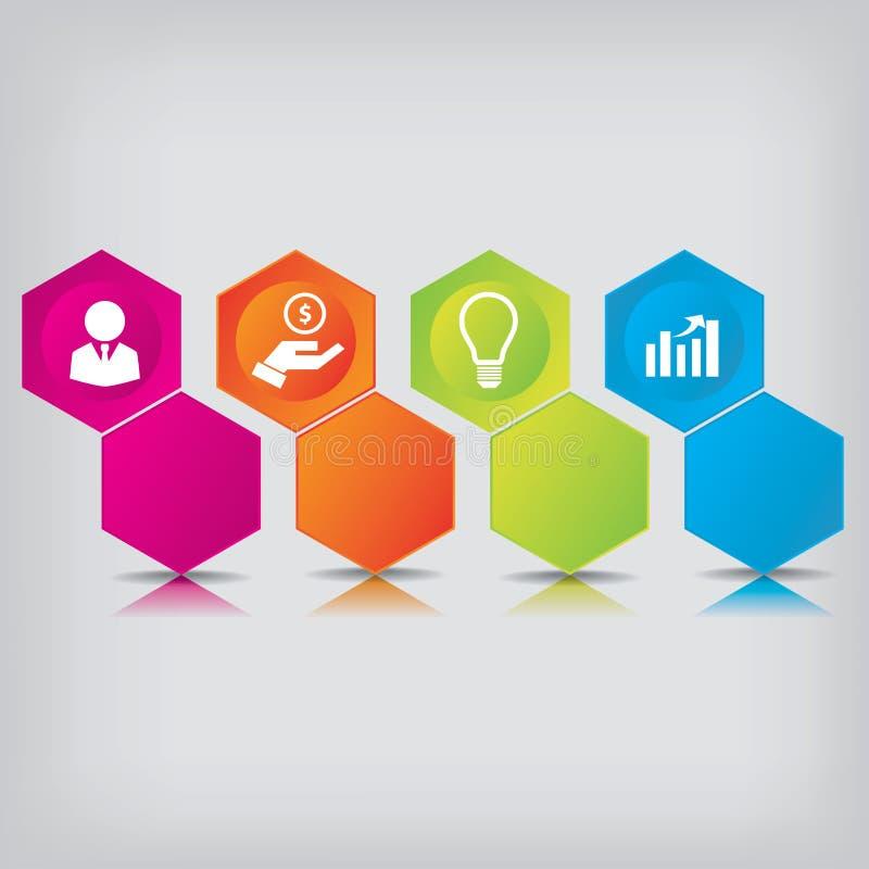 För rengöringnummer för modern design baner med affärsidéen som används för websiteorientering Infographics vektor illustrationer