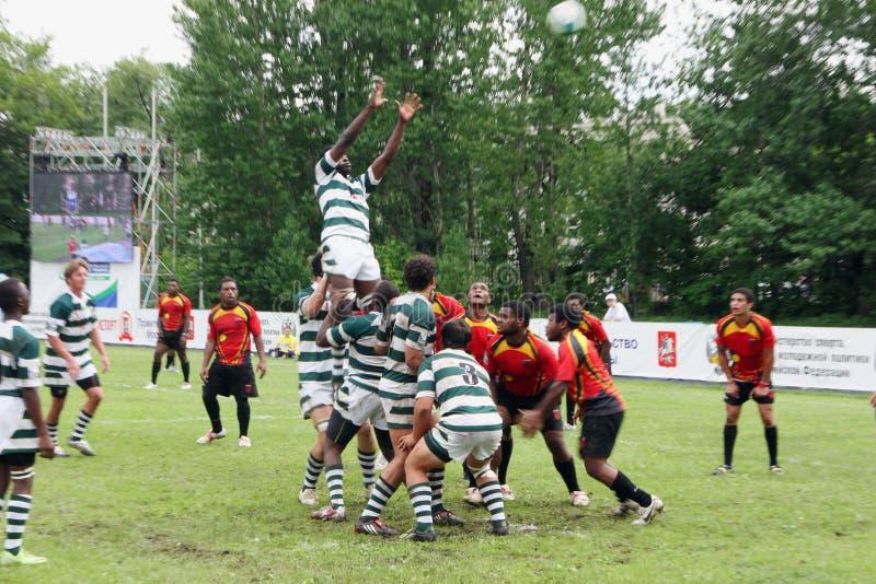 för rugbytrofé för irb yngre värld arkivfoton