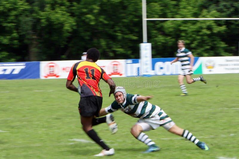 för rugbytrofé för irb yngre värld royaltyfri foto