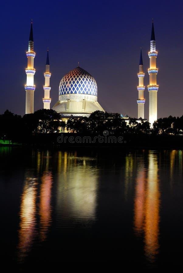 för salahuddin för abdul azizmoské sultan schah arkivbild