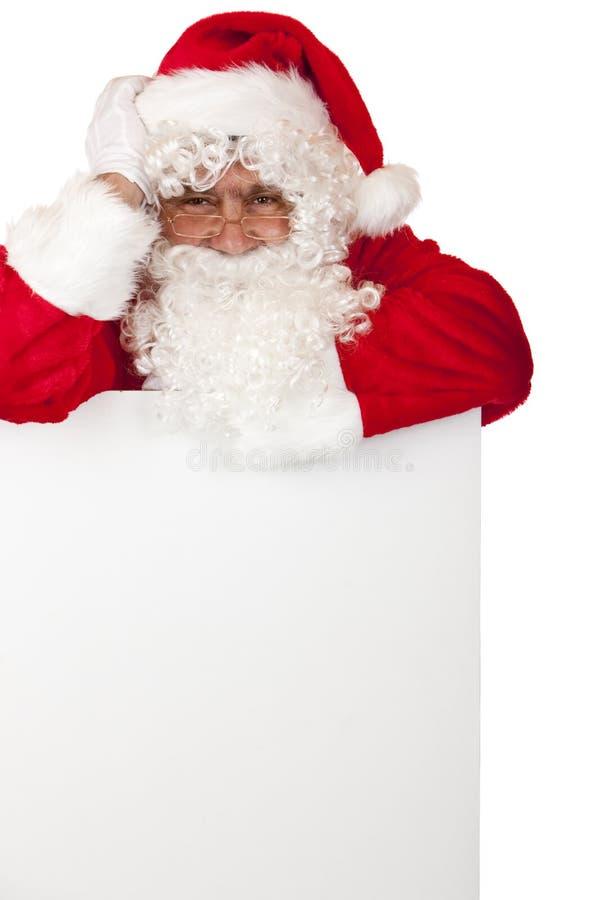 för santa för julclaus lycklig erbjudande special tecken arkivfoton