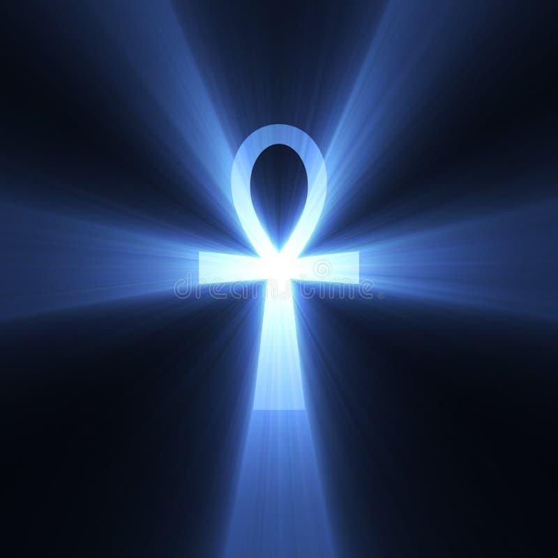 Download För Signalljuslivstid För Ankh Egyptiskt Symbol För Lampa Stock Illustrationer - Illustration av gudinna, dekorativt: 3536757