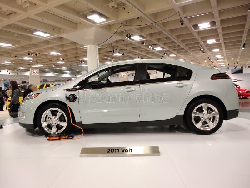 för skärmbland för bil chevy volt för propp fotografering för bildbyråer