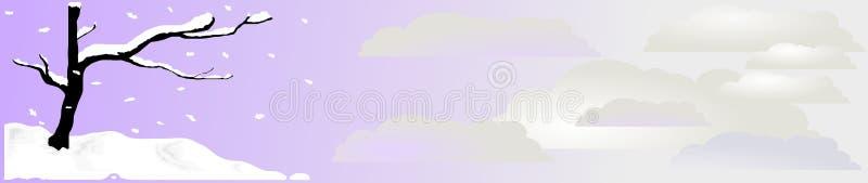 för snowvektor för 2 titelrad zen royaltyfri illustrationer