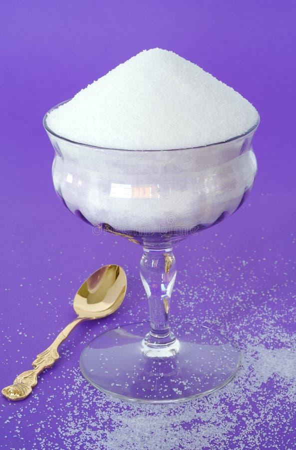 för sockertappning för backg glass grovkornig ren purpur white royaltyfri fotografi