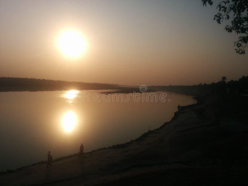 För solnedgång royaltyfri fotografi