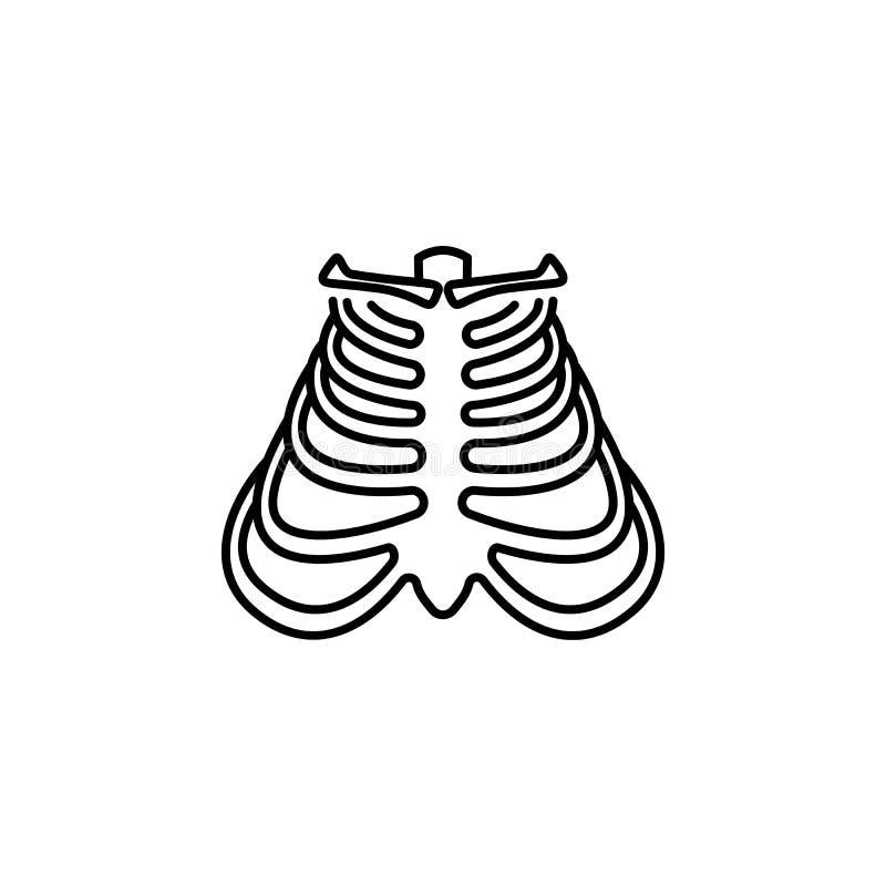 För stödöversikt för mänskligt organ symbol Tecknet och symboler kan användas för rengöringsduken, logoen, den mobila appen, UI,  vektor illustrationer