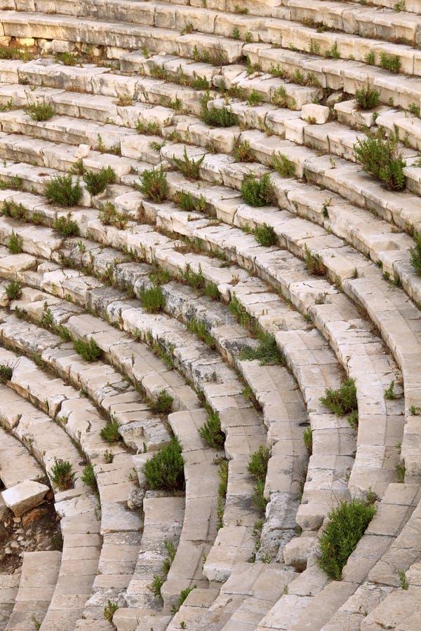 för stadspatara för amphitheater forntida kalkon royaltyfri foto
