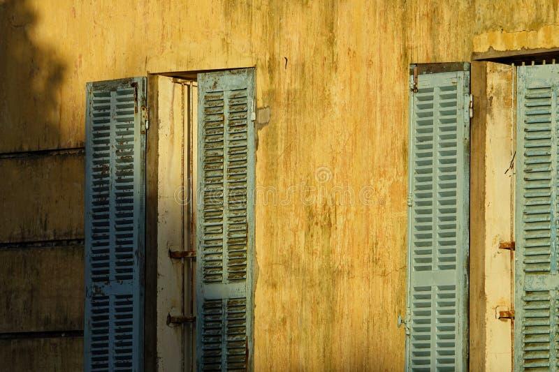 För stilarkitektur för tappning fransk detalj arkivfoto