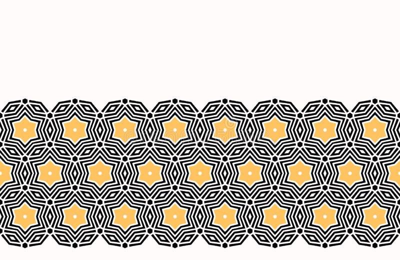 För stjärnacirklar för djärv hand utdraget täcke S?ml?s bakgrund f?r vektormodell Geometrisk celtic fnurenillustration för symmet stock illustrationer