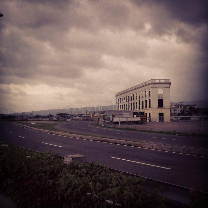 För stormen arkivfoto