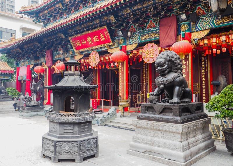 för taktaoist för forntida byggnader modernt tempel royaltyfri foto