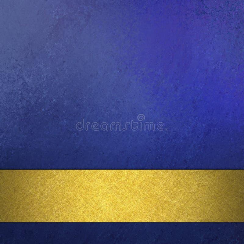För tappninggrunge för abstrakt blå bakgrund lyxig rik design för textur för bakgrund med bandet för band för elegant antikvitetab vektor illustrationer