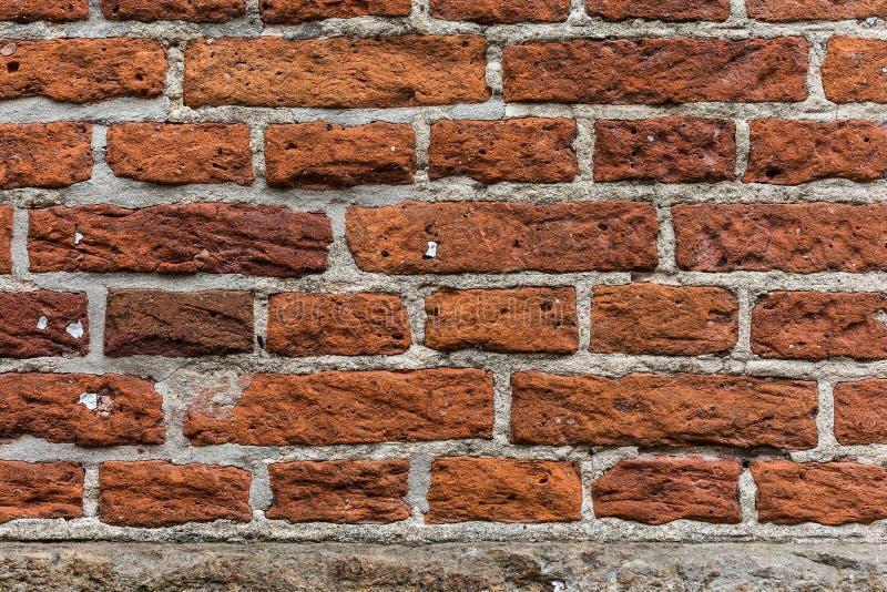 För tegelstenvägg för Grunge gammal bakgrund för textur royaltyfri fotografi