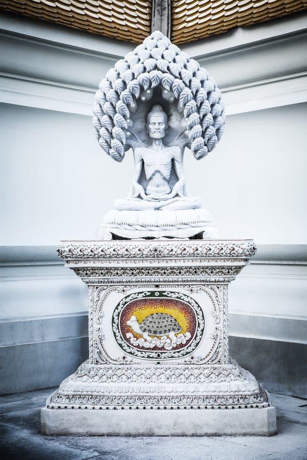 För tortyrmarmor för Buddha fysisk staty i den Pariwat templet royaltyfri foto