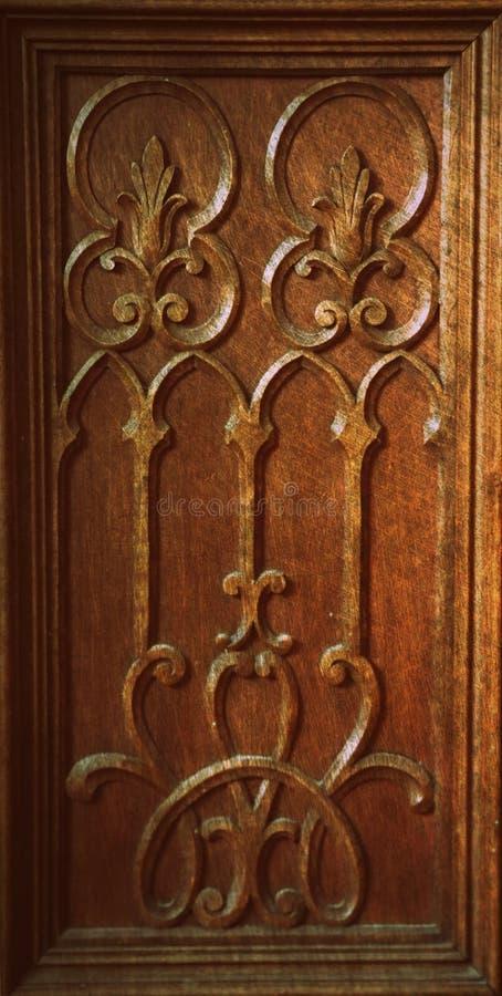 För träskulpturgrunge för tappning ytbehandlar den antika modellen abstrakt texturbakgrund royaltyfri foto