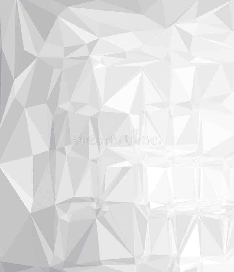 För triangelformer för vektor abstrakt bakgrund vektor illustrationer