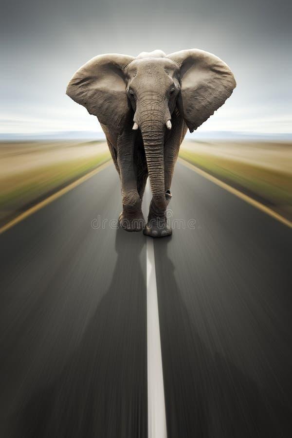 för vägtransport för begreppsmässig arbetsuppgift tungt lopp arkivbild
