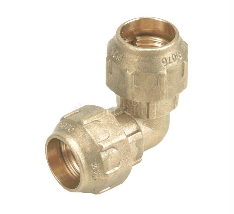 För vattenrör för metall eller för PVC plast- ventil för anslutning, rörmokeri royaltyfri fotografi