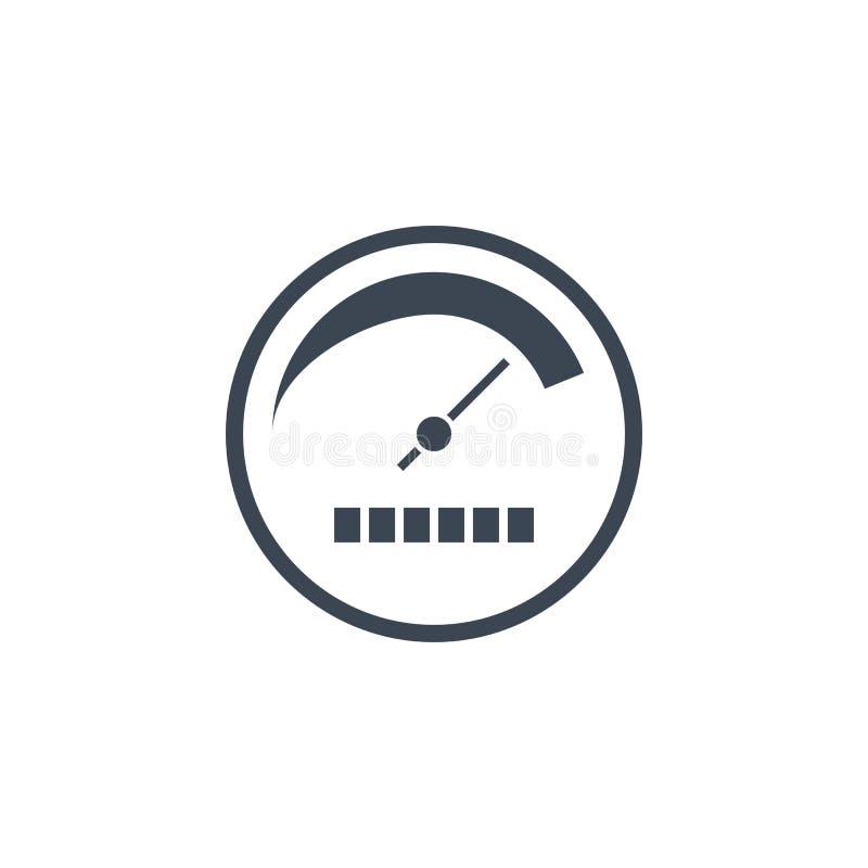 För vektorskåra för produktivitet släkt symbol stock illustrationer