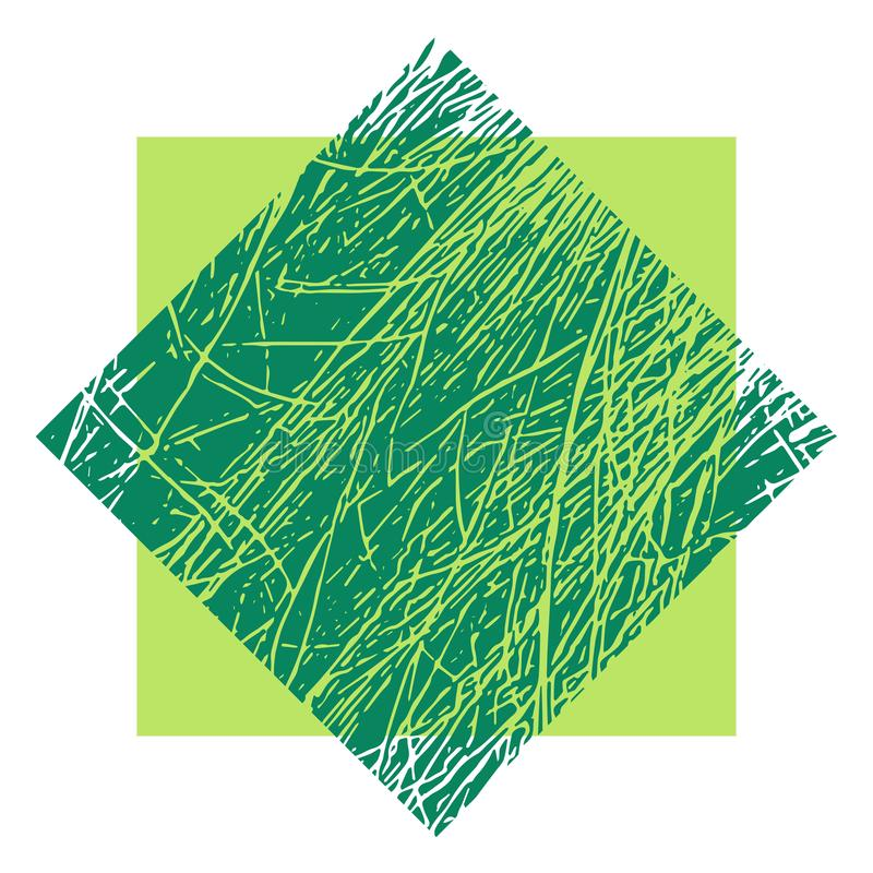 För vektortextur för gräs abstrakt bakgrund stock illustrationer
