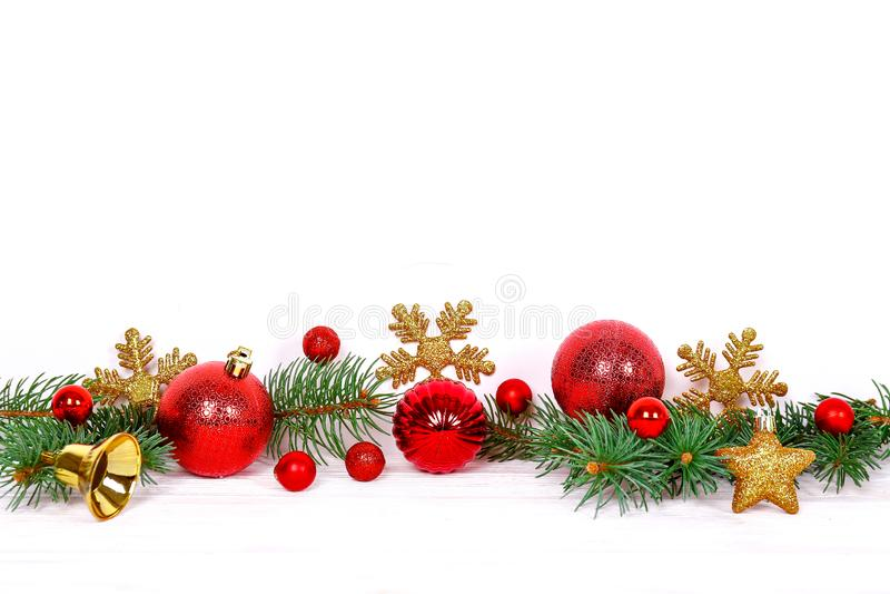 För vintersemesterperiod för jul och för nytt år begrepp arkivfoto