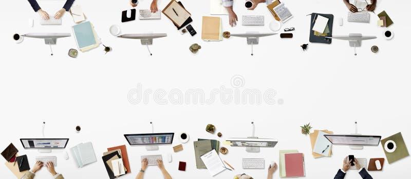 För yrkesmässig företags begrepp ockupationaffär för kontor royaltyfri fotografi