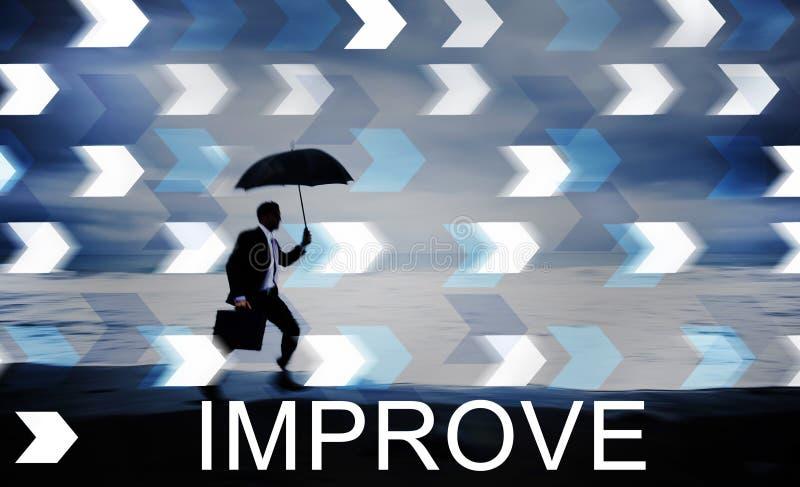 Förbättra begrepp för ändring för förbättringsutveckling bättre royaltyfria foton