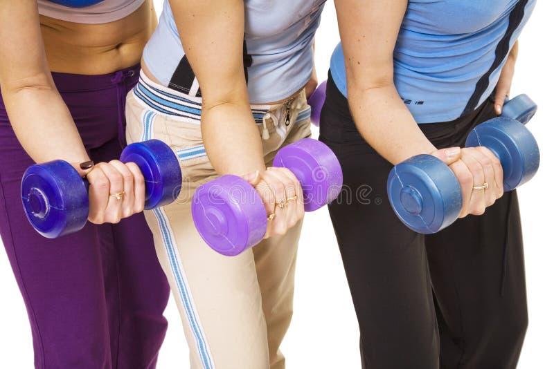 förbättra muskler royaltyfri bild