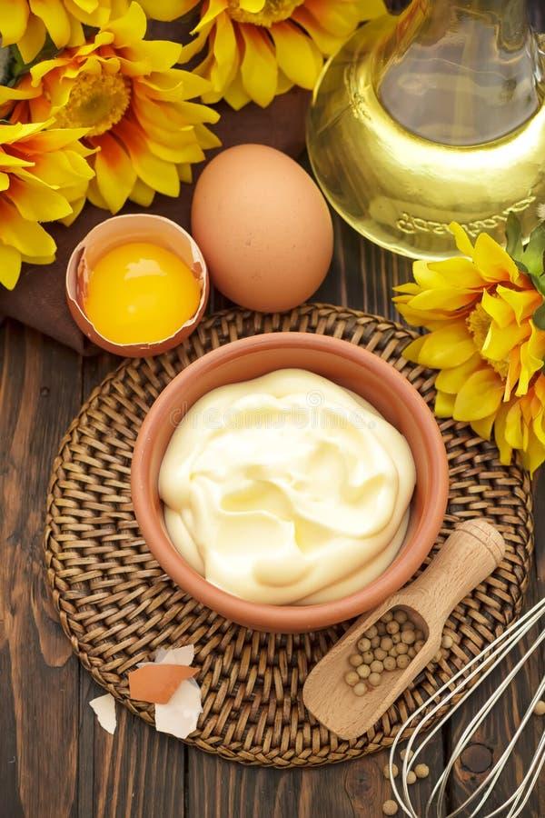 Mayonnaise royaltyfri fotografi