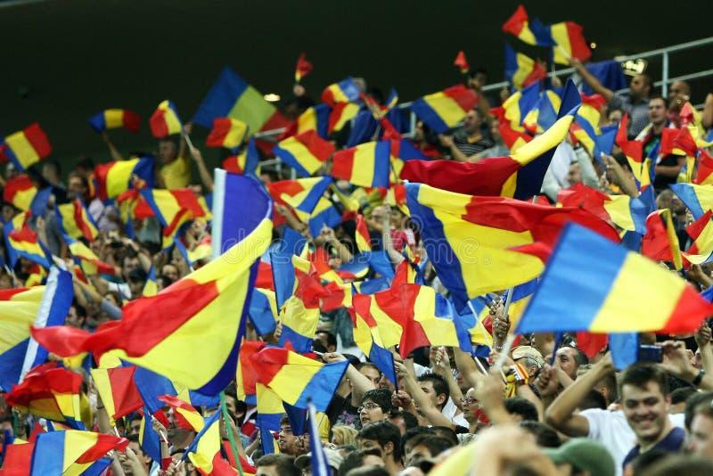 Förberedande åtgärd för världscup 2014: Romania-Andorra royaltyfri fotografi