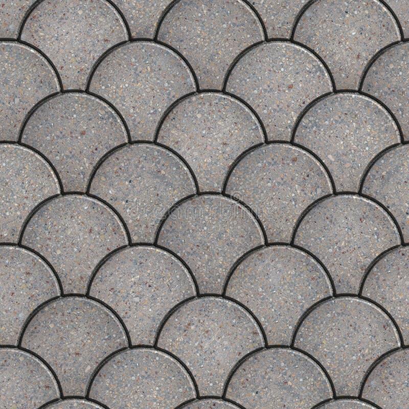Förberedande tjock skiva. Sömlös Tileable textur. royaltyfri fotografi