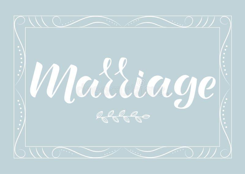 FÖRBINDELSE - bröllopinbjudan, lyckönsknings- uttryck vektor illustrationer