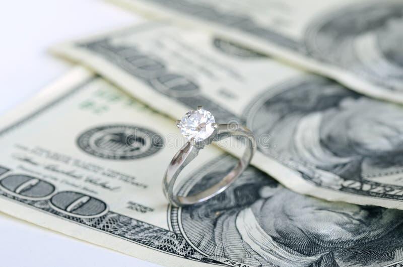 Förbindelse och pengar arkivfoto