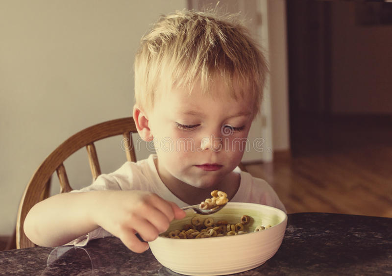 Förbindlig och borrningfrukost royaltyfria bilder
