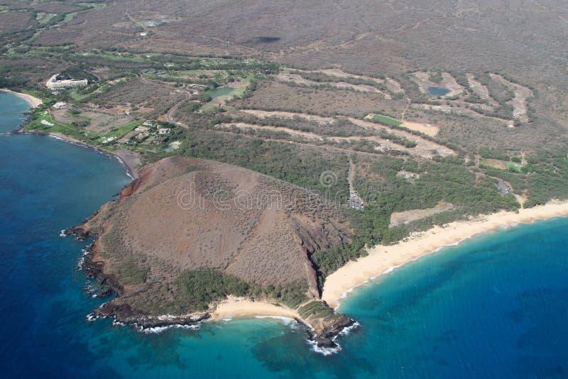 Förbise Makena Maui Hawaii royaltyfri fotografi