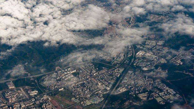 Förbise staden av Zhuhai, Kina arkivbild